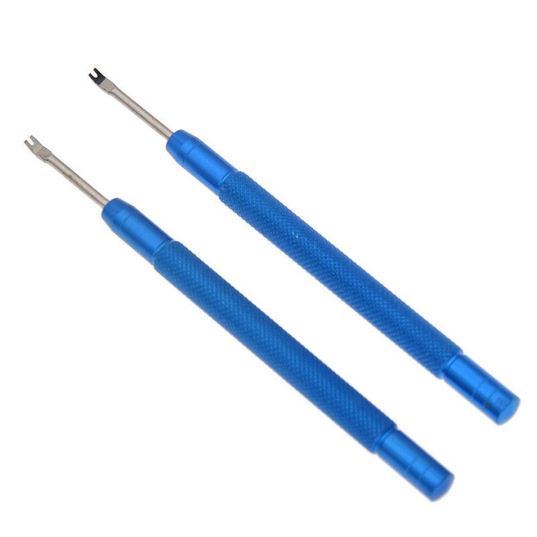 Blue Red Random 2pcs Metal Professional Pin Lever Replace Watchmaker Repair Tool Precision Watch Hand Remover Puller