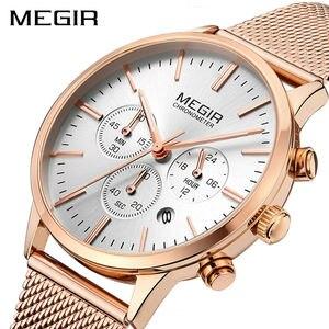 Image 2 - MEGIR แบรนด์ผู้หญิงหรูหราแฟชั่นนาฬิกาควอตซ์สุภาพสตรีนาฬิกา Relogio Feminino นาฬิกานาฬิกาข้อมือสำหรับคนรักสาวเพื่อน 2011