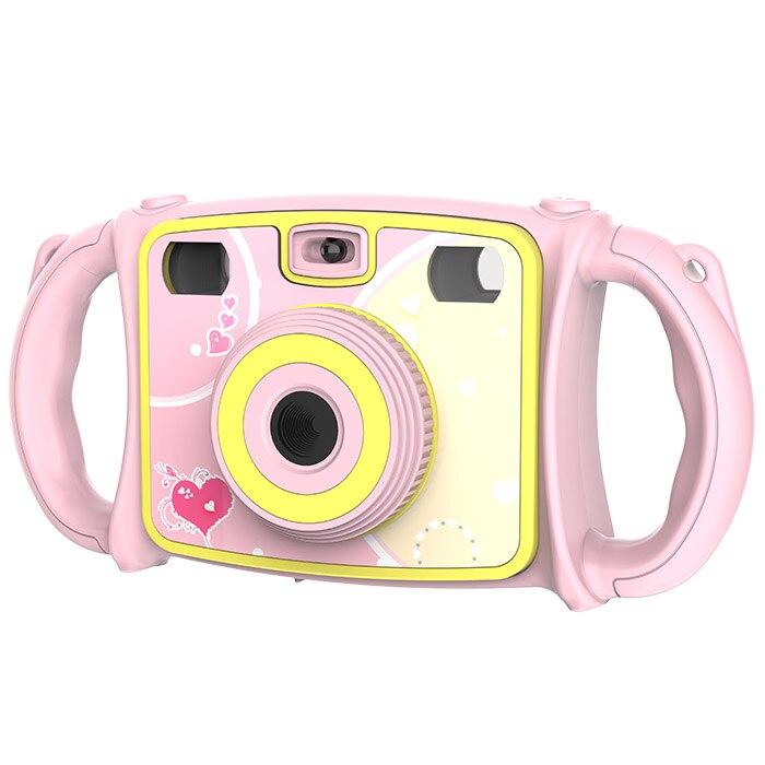Jouet électronique caméra bande dessinée double objectif Zoom appareil Photo numérique jouet pour enfants - 4