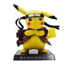цена 15CM Pikachu Cosplay Naruto Uzumaki Naruto Cartoon Action Figure PVC Toys Collection Figures For Friends Gifts Free Shipping онлайн в 2017 году
