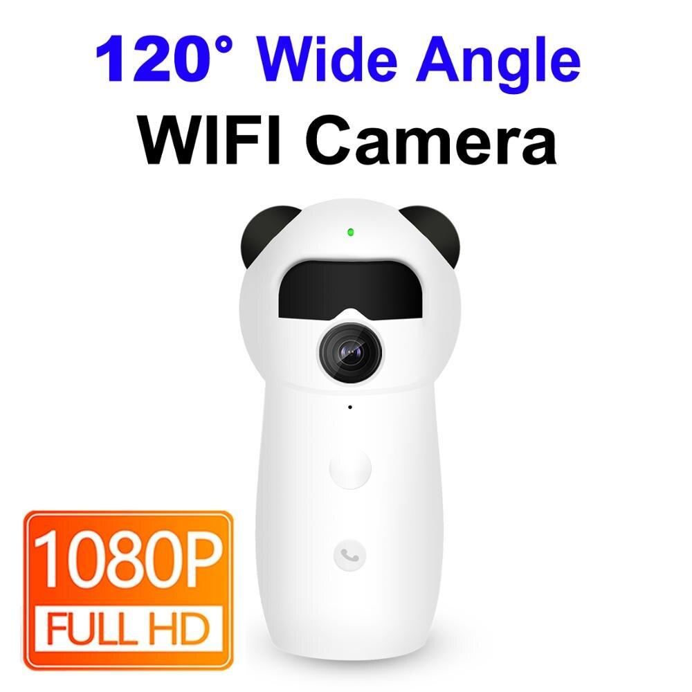 Câmera Ip Wifi 1080 p Mini Monitor Do Bebê De Áudio Inteligente CCTV Home Security Sem Fio Ipcam Ampla Ângulo de Visão Noturna Infravermelha segurança|Câmeras de vigilância| |  - title=