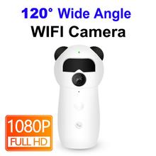 Ip Camera Wifi 1080p Mini Baby Monitor Audio Smart CCTV Home Security Wireless Ipcam Wide Angle Infrared Night Vision Security 360 mini ip camera wifi 1080p full hd wireless cctv camera store home security one key alarm infrared night vision baby monitor
