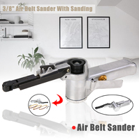 3/8 Air Belt Sander With Sanding Belt For Air Compressor Sanding Pneumatic Tool Woodworking Furniture Polishing