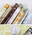 3/5M Waterproof PVC Vinyl Self adhesive Wallpaper Marble Contact Paper Kitchen Cupboard Shelf Drawer Liner Wall Stickers