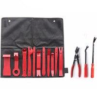 14pcs Automobile Radio Panel Door Clip Trim Dash Removal Installer Pry Repair Tool Set for Car Panel Removal Tools