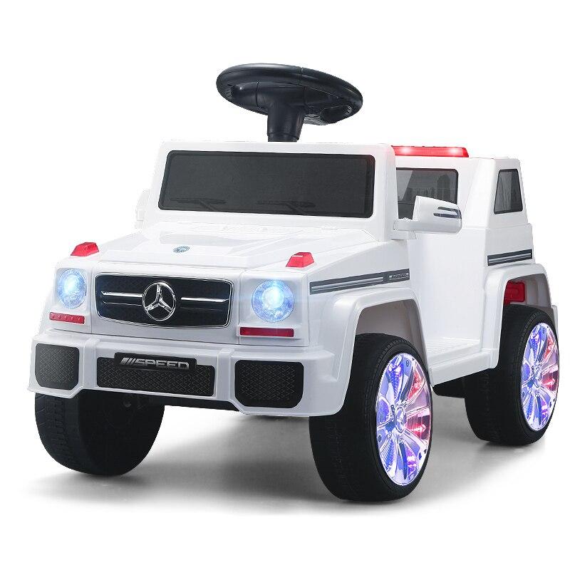 Vehículos eléctricos de Control remoto para niños, los mejores juguetes de regalo para bebés de 3 años, coche con cuatro ruedas coche
