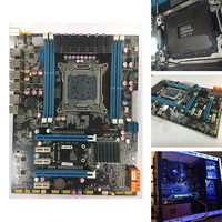 USB 3,0 REG 64 г ECC Интер X79 материнская плата настольного компьютера SATA 3,0 Turbo Boost свет ATX основной платы DDR3 LGA 2011