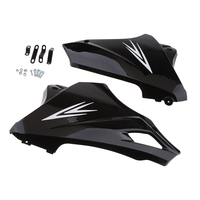 Gloss Black Motorcycle Under Engine Lower Cowl Shrouds Belly Pan Accessories for HONDA Grom MSX 125 13 15