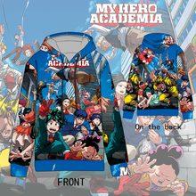 Hot  Anime My Hero Academia Cosplay Hoodies Standard Hooded Winter Tops Boku no Unisex funny Sweatshirts