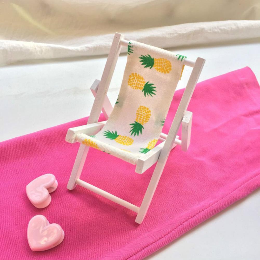 Mini Beach Lounge Chair Miniature Chairs Garden Decoration