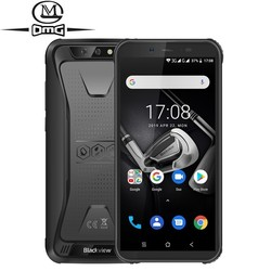 Перейти на Алиэкспресс и купить blackview bv5500 waterproof shockproof rugged mobile phone android 8.1 5.5дюйм. mtk6580 quad-core 2gb+16gb 3g smartphone dual sim