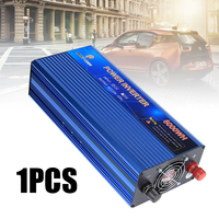 Blue 5000W Modified Sine Wave Power Inverter DC 12V to AC 210~230V Converter