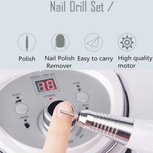 30000RPM Electric Nail Drill Manicure Machine Set