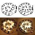 10/16PCS Einbau In boden LED Deck Lichter 0 6 W/piece Wasserdichte Scheinwerfer Landschaft Garten Terrasse Pathway Etagen treppen-in LED-Erdlampen aus Licht & Beleuchtung bei