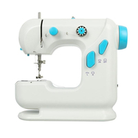 Mini Electric Handheld Sewing Machine Dual Speed Adjustment Sewing Machine With Foot Pedal Ac100 240V Double Threads Pendal Se