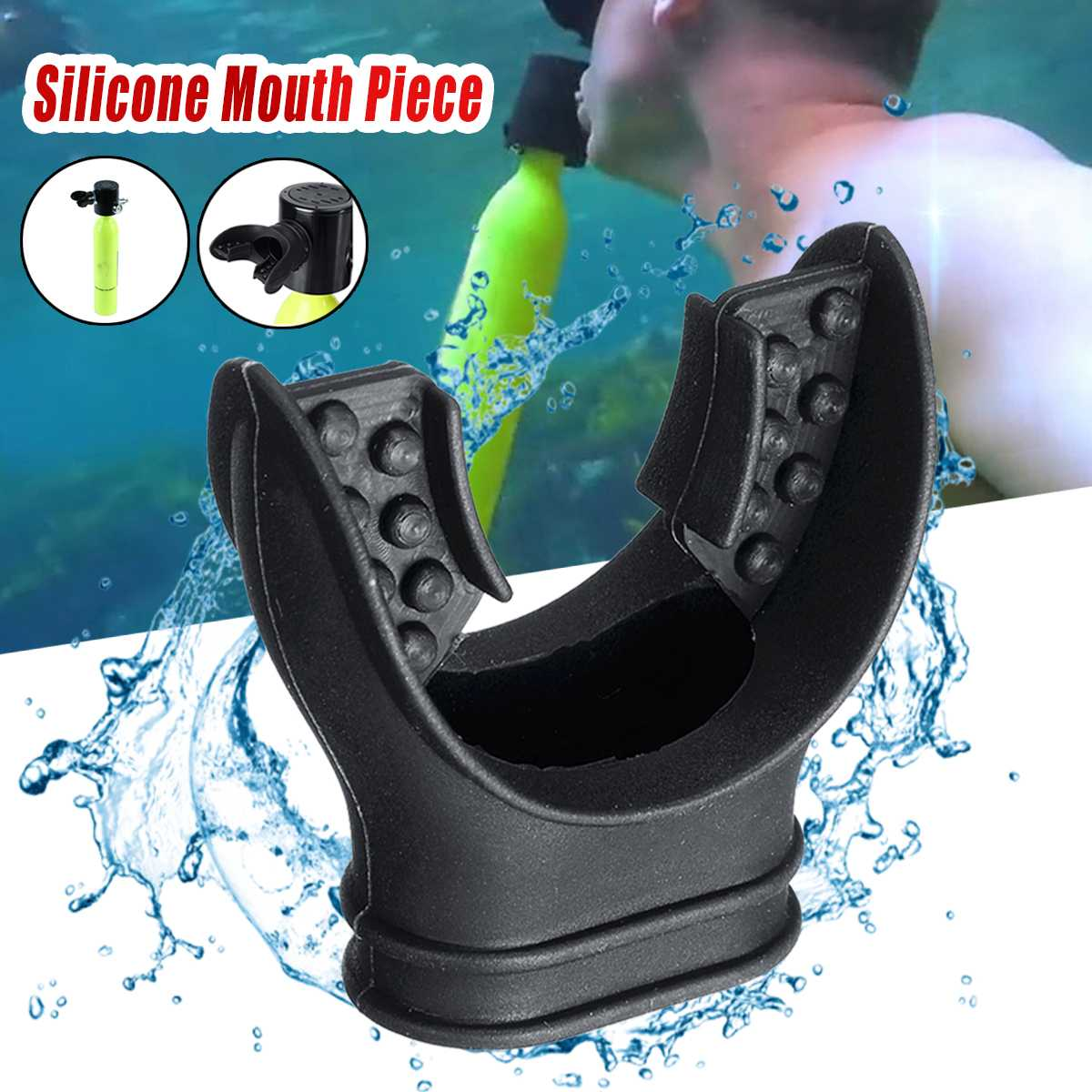 Diving Equipment Snorkeling Mouthpiece Spare For Mini