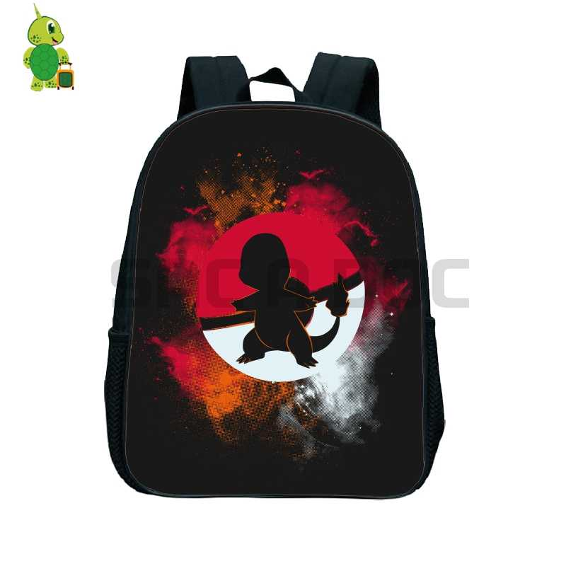 Detail Feedback Questions about Pokemon Charmander Pokeball Shadow Backpack  Children School Bags Toddler Backpack Primary Kindergarten Backpack Kids  Book ... a3e9f1e7929b0