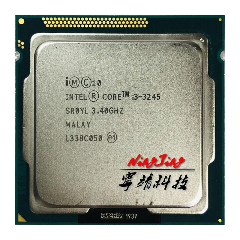 Intel Core i3 3245 i3 3245 3 4 GHz Dual Core CPU Processor 3M 55W LGA