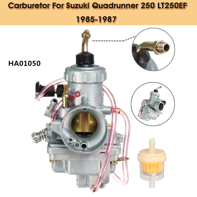 US 12 OFF HA01050 Carburetor With Filter For Suzuki Quadrunner 250 LT250EF 1985 1986 1987 In Carburetors From Automobiles Motorcycles On