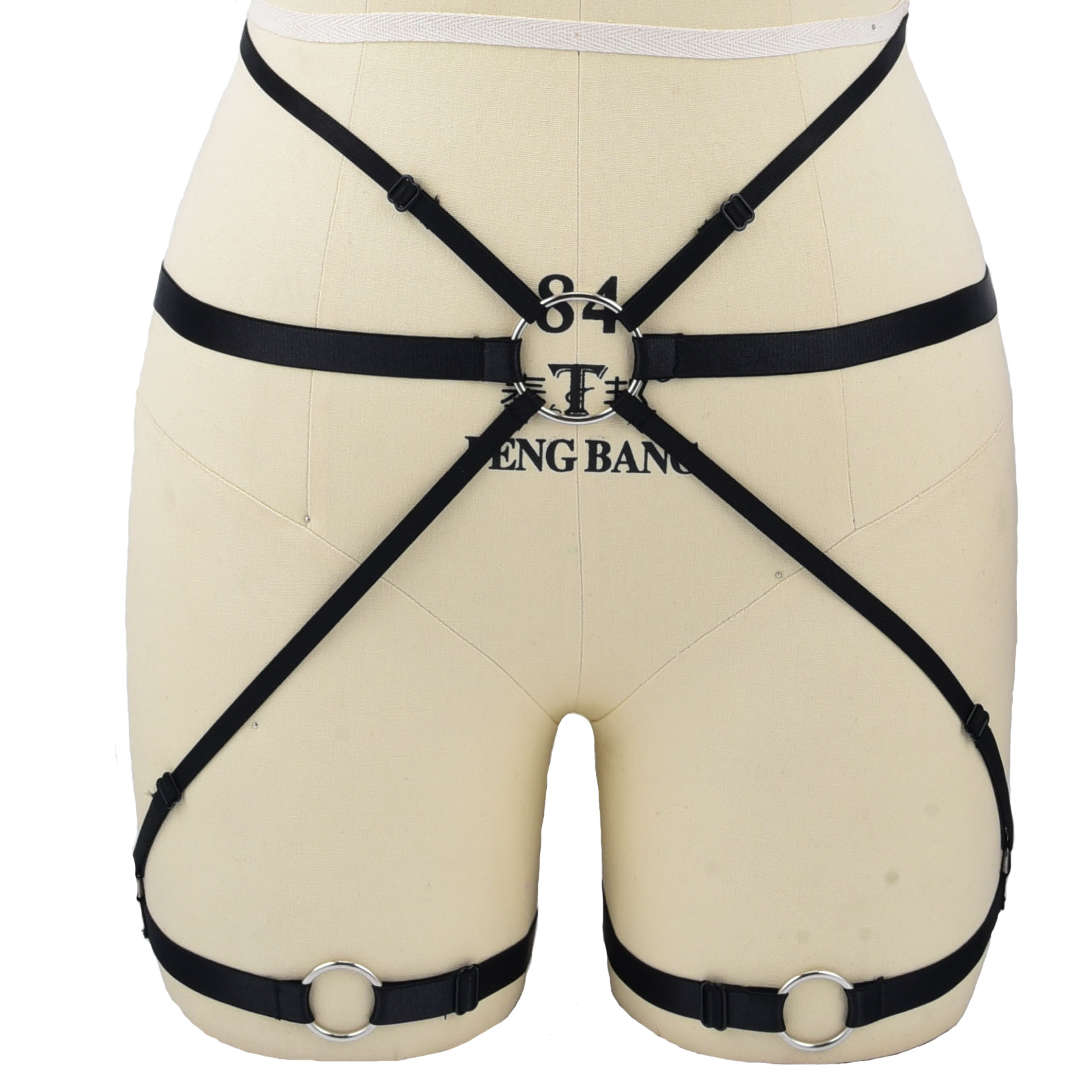 c2d5f9ac329 Hot Women Sexy Leg Garter Belt Elastic Cage Body Hollow Leg Garter Belt  Suspender Strap Underwear