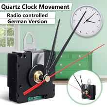 Reloj de cuarzo con movimiento, Radio controlada para Europa, versión alemana, DCF, sólo para la región europea, HR9624