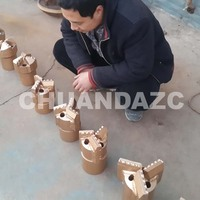 200mm 3 wing PDC Drag Bit for Water Well drilling