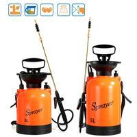 Manual Garden Sprayer Hand Pressure Pump Irrigation Sprinkler Kit Shoulder Strap Watering Supplies Gardening Tools Bottle 3L/5L