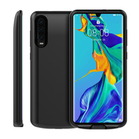 5000 mAh Battery Charger Case Voor Huawei P30 Case Extenal Draagbare Slanke Powerbank Opladen Cover Voor Huawei P30 Batterij Case Batterijlader Hoesje    -
