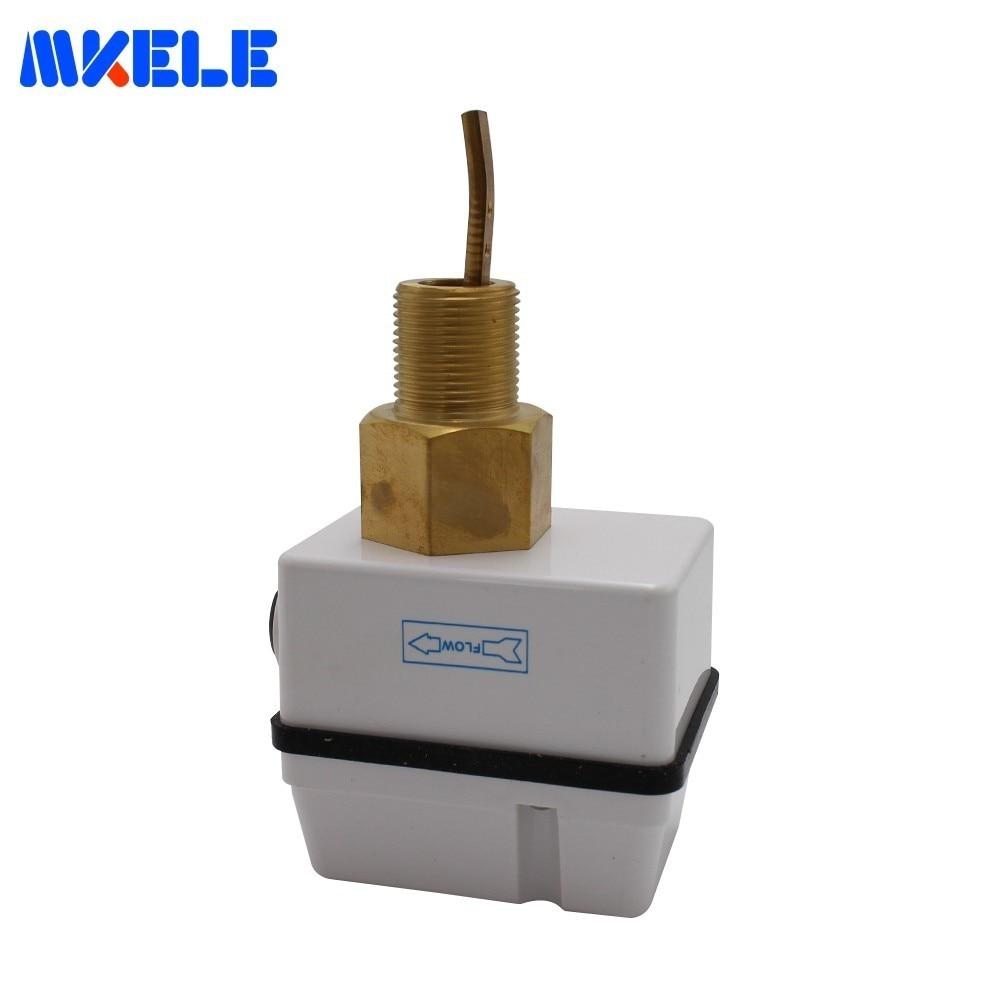 Contrôleur de niveau d'eau de capteur de débit d'air de MK-FS01 de qualité Durable AC 250 V 15A résistant à la Corrosion en acier inoxydable