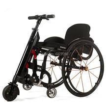 Free shipping 2019 Hot sell cool   mini lithium battery  electric/manual sport wheelchair handbike