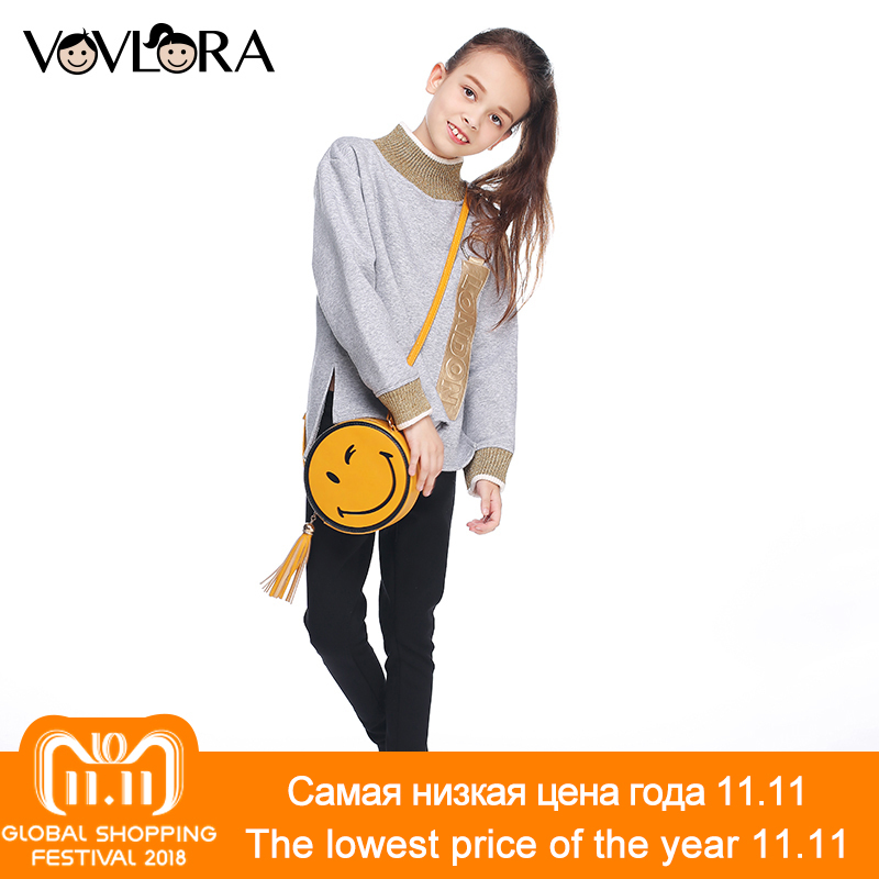 Girls sweatshirt top kids fleece sweatshirts for girl with letter cotton long sleeve turtleneck new arrival autumn 2017 children letter print long sleeve sweatshirt dress page 5