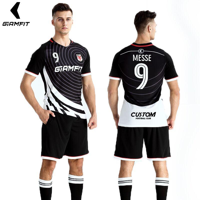 Jersey de fútbol 2018 Survement Kit de fútbol para hombre deportes trajes profesional de camisetas de fútbol de diseño personalizado de uniforme de fútbol