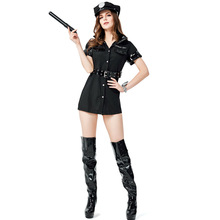 Sexy Police Costume Woman Cosplay Halloween For Women