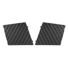VODOOL 2 Adet Araba ön tampon ızgarası Menfezler Dış Aksesuarlar 51117897184 Şekillendirici Için BMW 5 Serisi E60 E61 M Paketi 2...