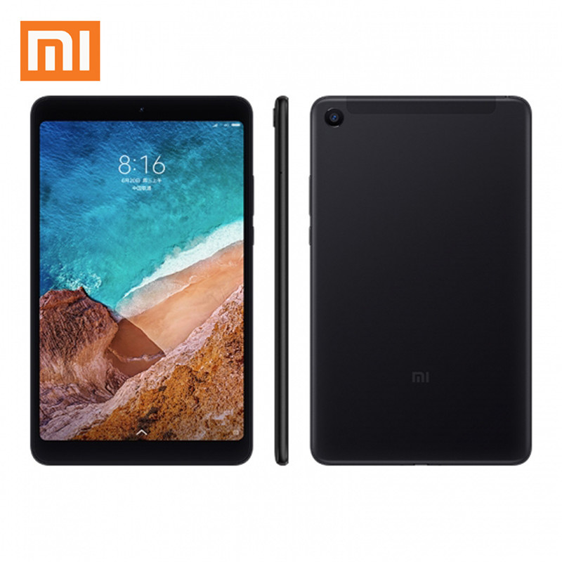 Original Box Xiaomi Mi Pad 4 Plus 4G+64G LTE Global ROM Snapdragon 660 MIUI 9.0 10.1 Tablet Black Xiaomi Tablet