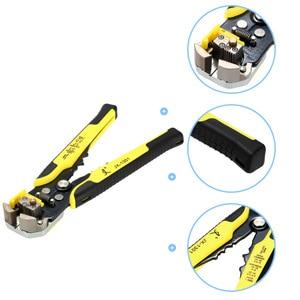 Image 2 - JX1301 Cable Wire Stripper Cutter Crimper Automatico Multifunzionale Stripping Tools Pinze di Piegatura Terminale di 0.2 6.0mm strumento mano