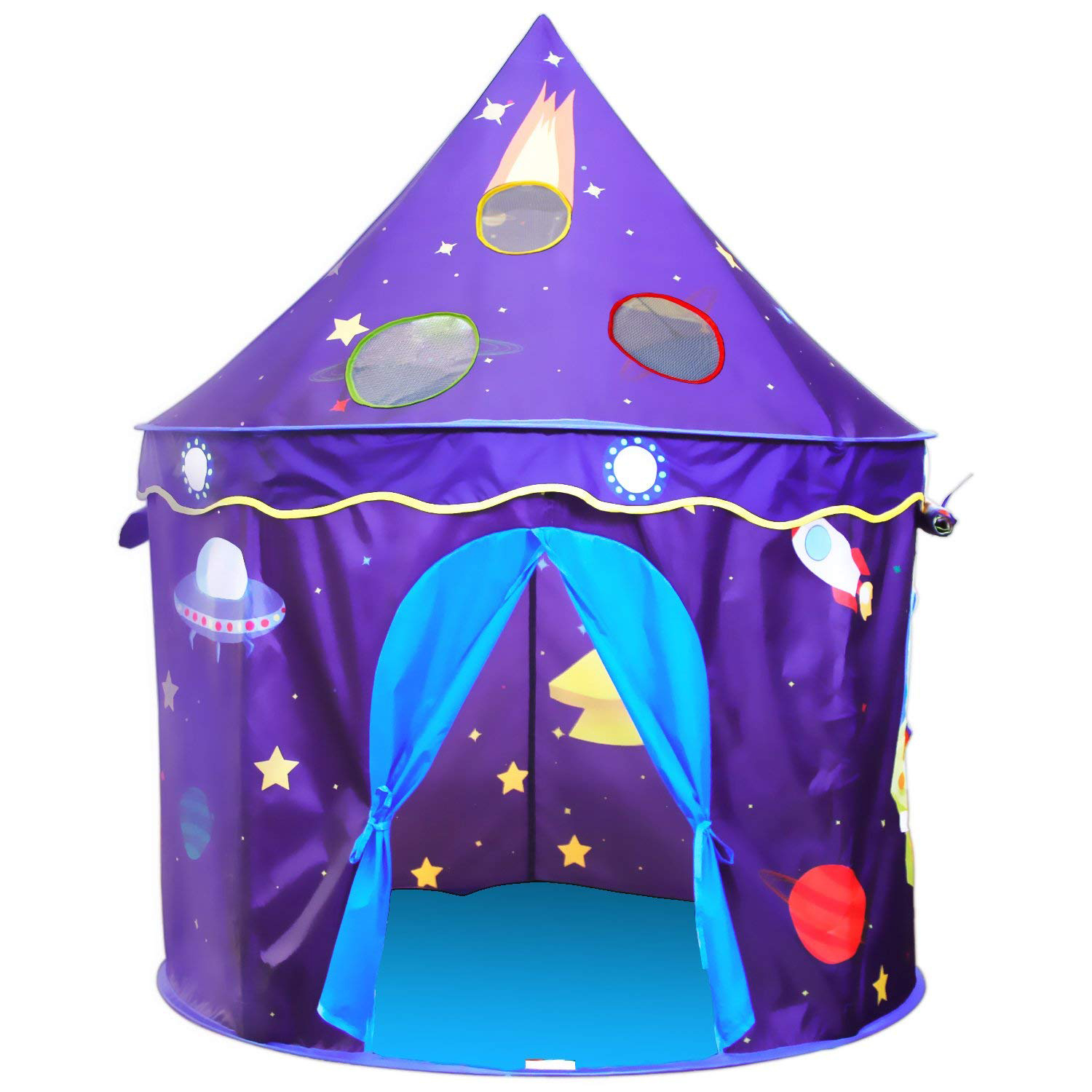 Children's Tent for Outdoor Indoor Games Play Foldable Tent for Girls and Boys with Soft Carpet Kids Birthday Christmas gifts