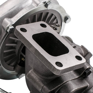 Image 5 - T04E T3 T4 .63 A/R 44 Trim Universal Turbo Charger Compressor 400+HP Stage III Wastegate with Internal Wastegate Universal