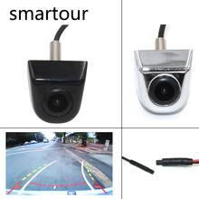 Smartour Car Dynamic Trajectory Moving Guide Parking Line Rear View Reverse Backup Tracks Camera For Android DVD Monitor цена