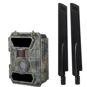 Image 2 - 4.0CG приложение удаленные противоскользящие камеры 110 градусов широкоугольный объектив беспроводные лесные камеры 57 шт Невидимый ИК светодиодный 4G скрытые камеры
