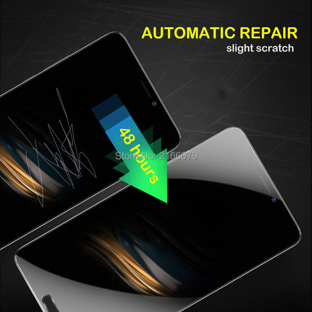 """For BlackBerry Priv 5.4"""" Soft TPU Front Full Cover Screen Protector Transparent Protective Film + Tools (Not Tempered Glass)"""