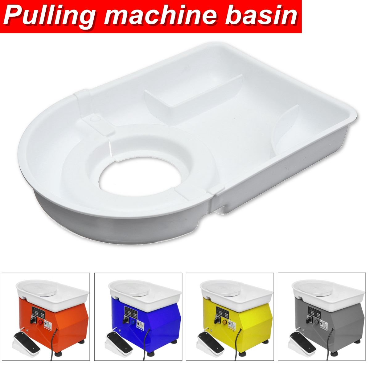 Pottery Wheel Ceramic Machine Pulling machine basin ABS Plastic Work Clay Art Craft Tool Parts Fittings|Pottery & Ceramics Tools| |  - title=
