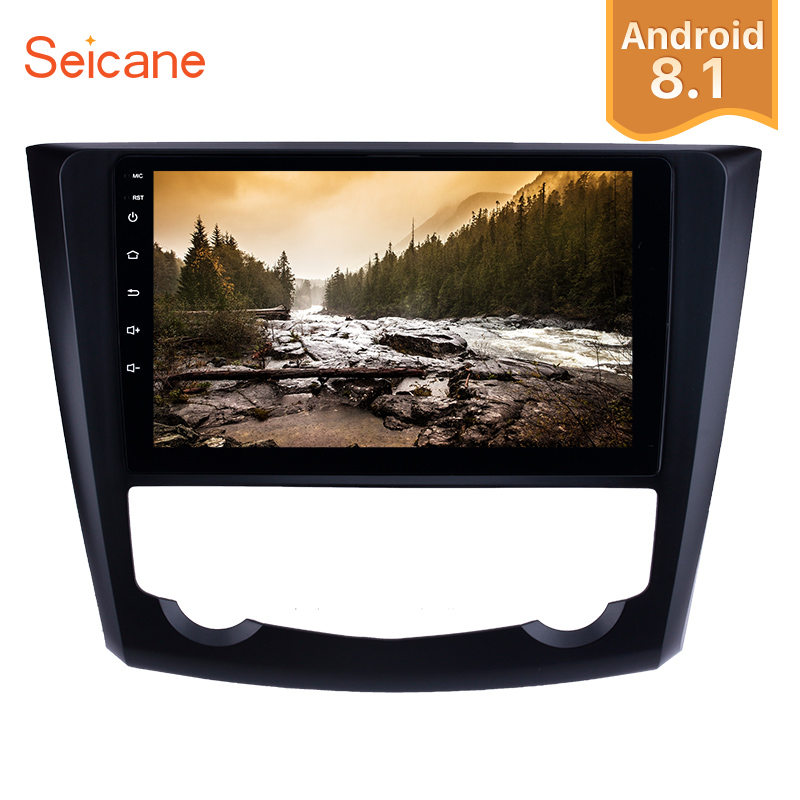 Seicane Android 8 1 9 HD Touchscreen Auto Radio GPS Head Unit For 2016 2017 Renault