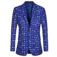 Luogen Blazer Mens Slim Fit Blazer Slim Masculino Business Casual Mens Stylish Blazer Spring Autumn Dot Striped Blazers Mens