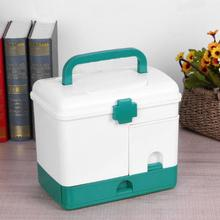 Medicine Storage Box  Case Multi-layer First Aid Kit Big Capacity Drawers Medicine Cabinet Storage Organizer 39 drawers storage cabinet tool box chest case plastic organizer toolbox bin