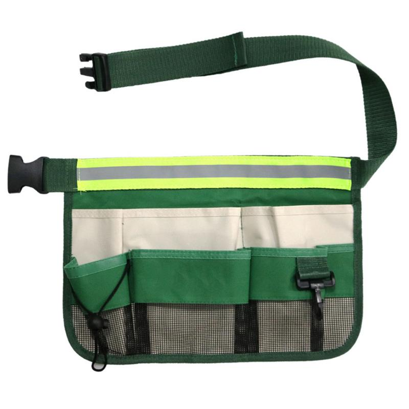 34*23CM Garden Cleaning Tool Box Special Waist Bag Garden Tool Multi-function Storage Bag
