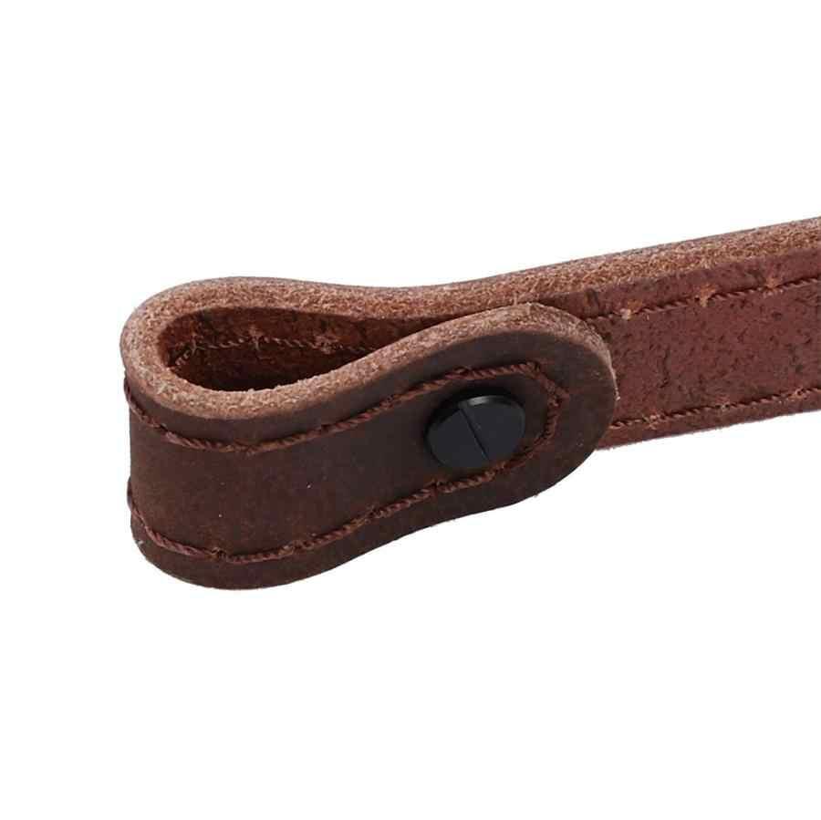 Outdoor Multifunctionele Riem Gun Sling Leer Rifle Sling Strap Outdoor Hond Strap Outdoor Gereedschap Jacht Accessoires