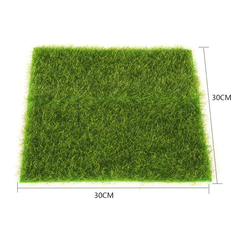 Artificial Fake Lawn Garden Ornament DIY Craft Artificial Lawn Grass For Wedding Party Decoration Mayitr 2 Size
