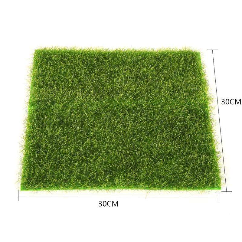 Artificial Fake Lawn Garden Ornament DIY Craft Artificial Lawn Grass For Wedding Party Decoration Mayitr 2 Size
