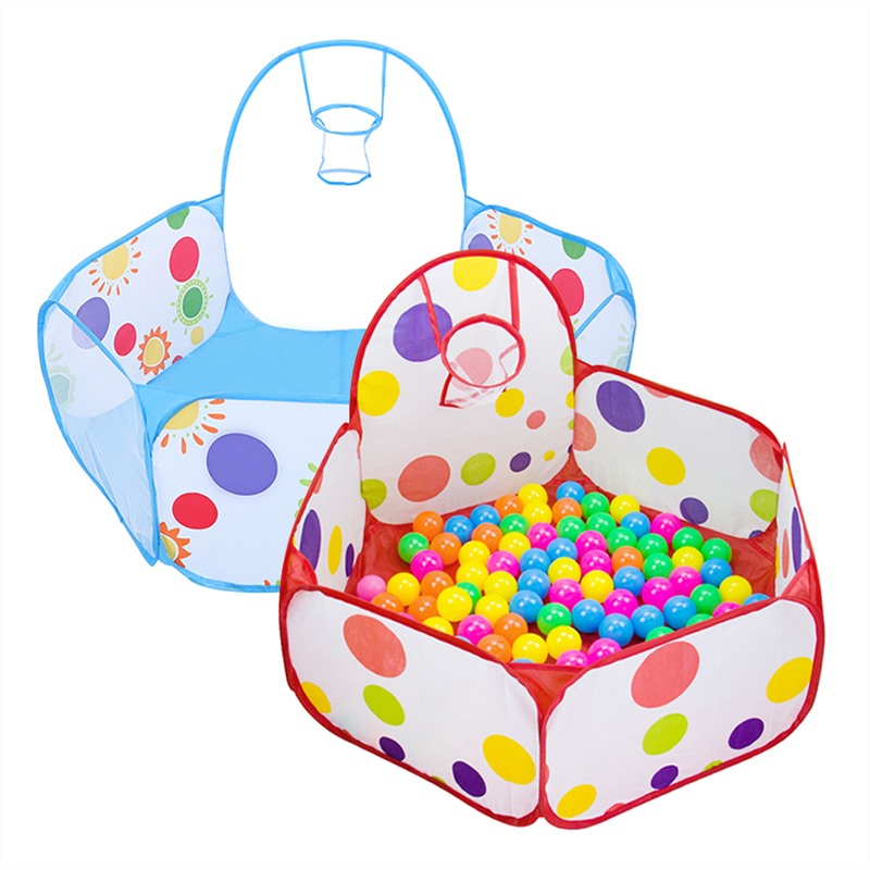Tents Outdoor Inflatable Ball Pool Boys Girls Kids Children Ball Pit Indoor Play Tent Game House Ocean Pool Toy Birthday Gift